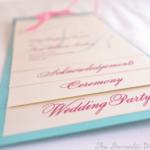 WEDDING LOGO , WEDDING ITINERARY, WEDDING PROGRAM CARD