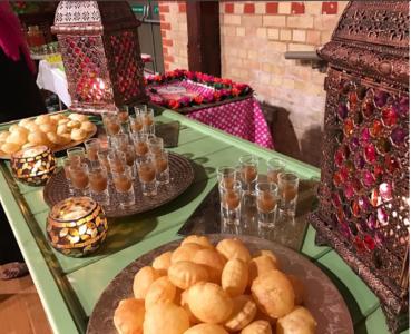 Pani Puri stall in wedding