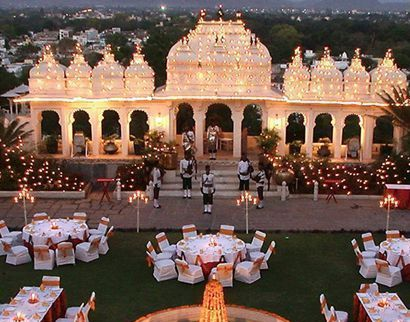 Best Wedding Planner and decorator Shiv Niwas Palace Udaipur