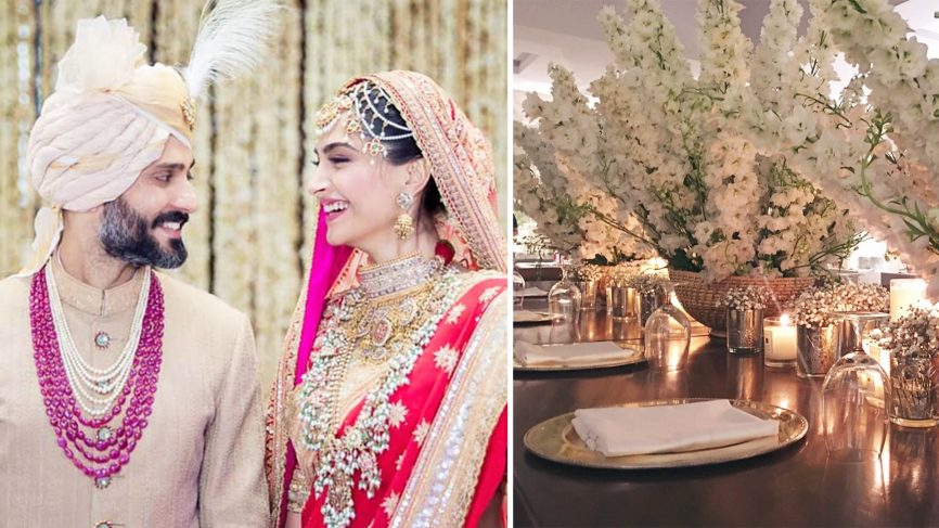 SONAM KAPOOR and ANAND AHUJA WEDDING , DESERT PEARL WEDDINGS