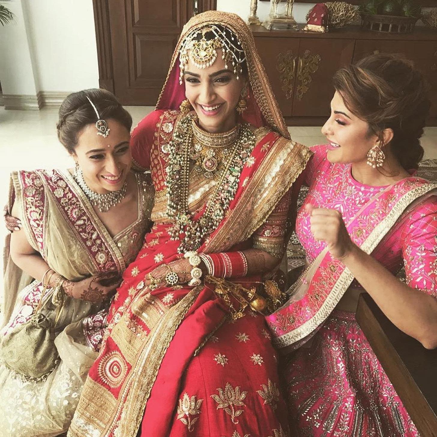 Sonam Kapoor Amp Anand Ahuja Wedding Desert Pearl