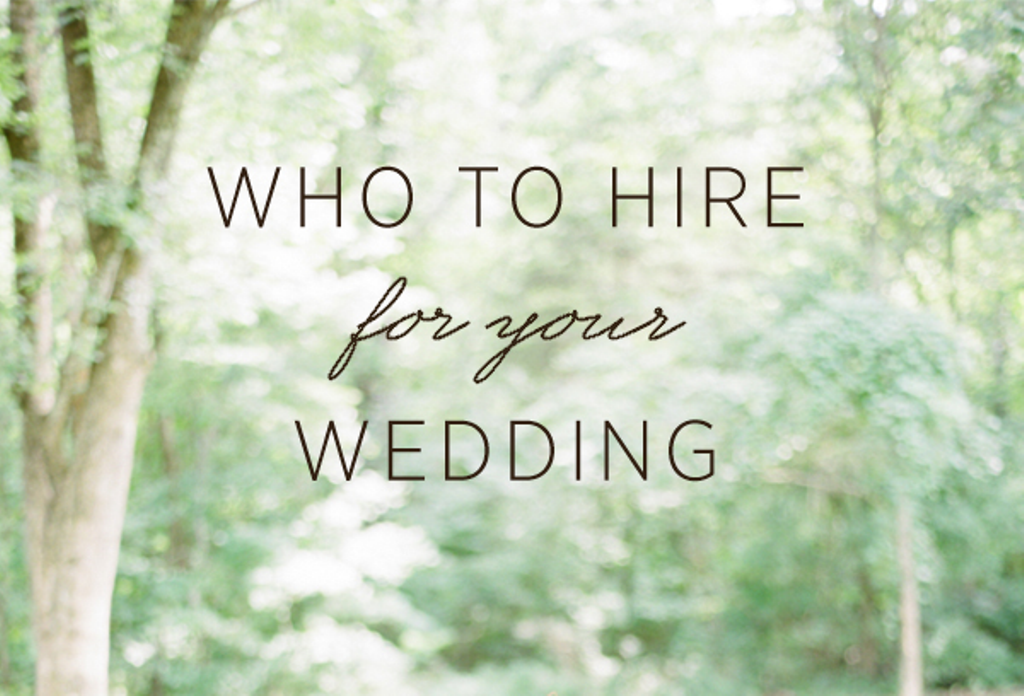 Do I need a Wedding Stylist or a Wedding Planner?